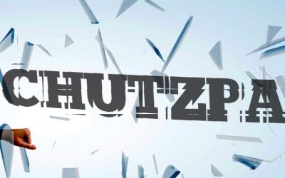 Let's talk Chutzpah
